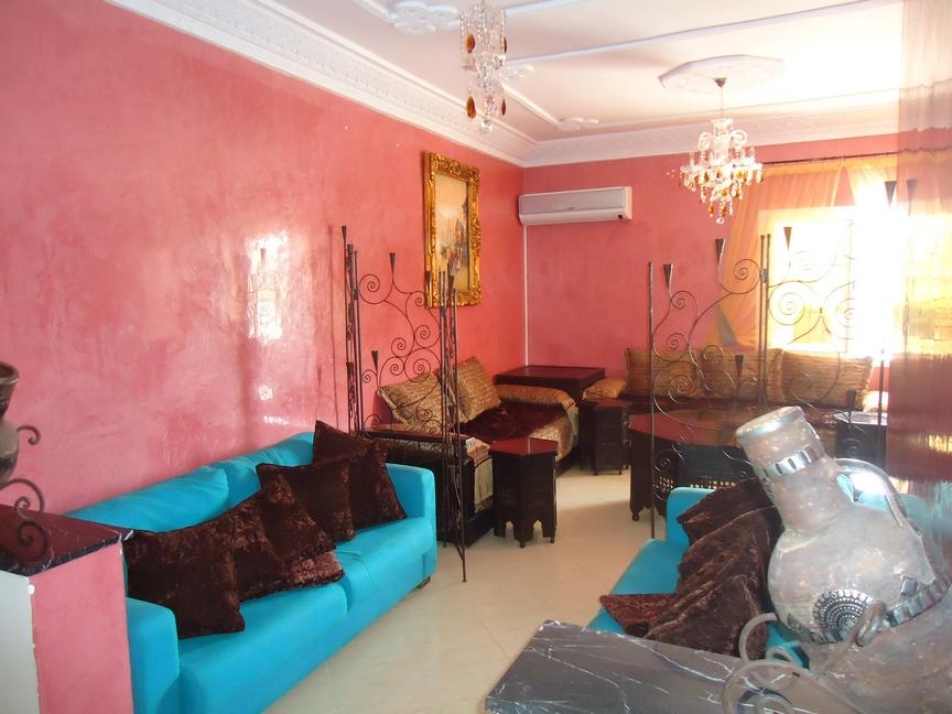 Appartement meublé avec parking - LM214